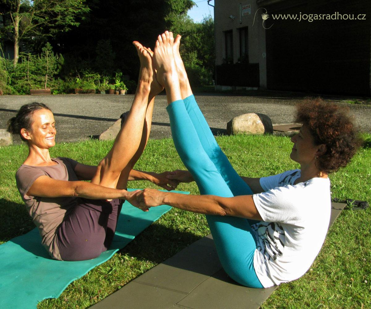 Víkend s jógou a živou stravou pro ženy