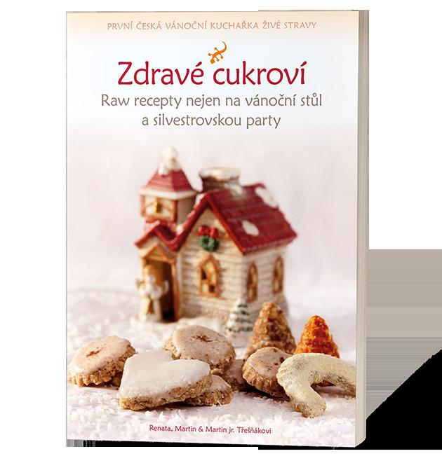 První česká vánoční kuchařka živé stravy je konečně tu!
