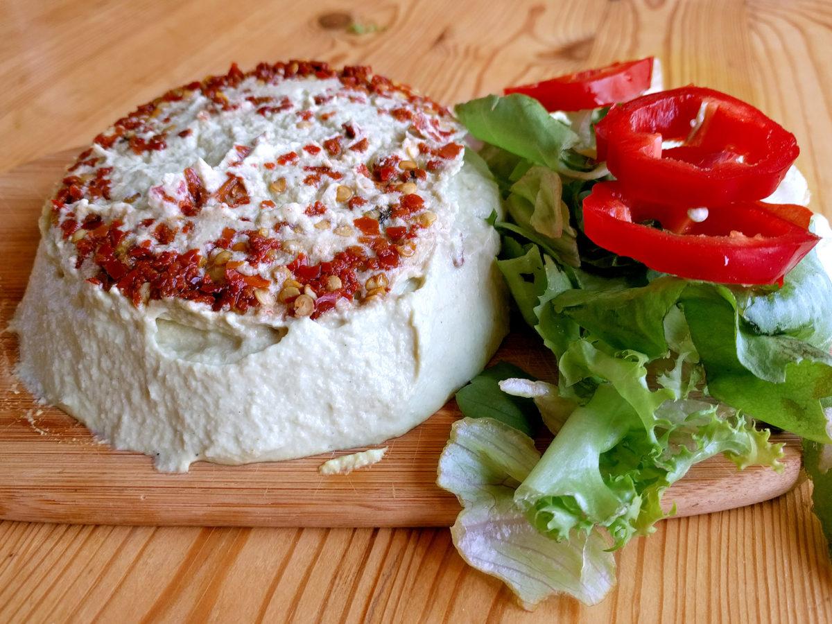 Jemný semínkový sýr s irským mechem