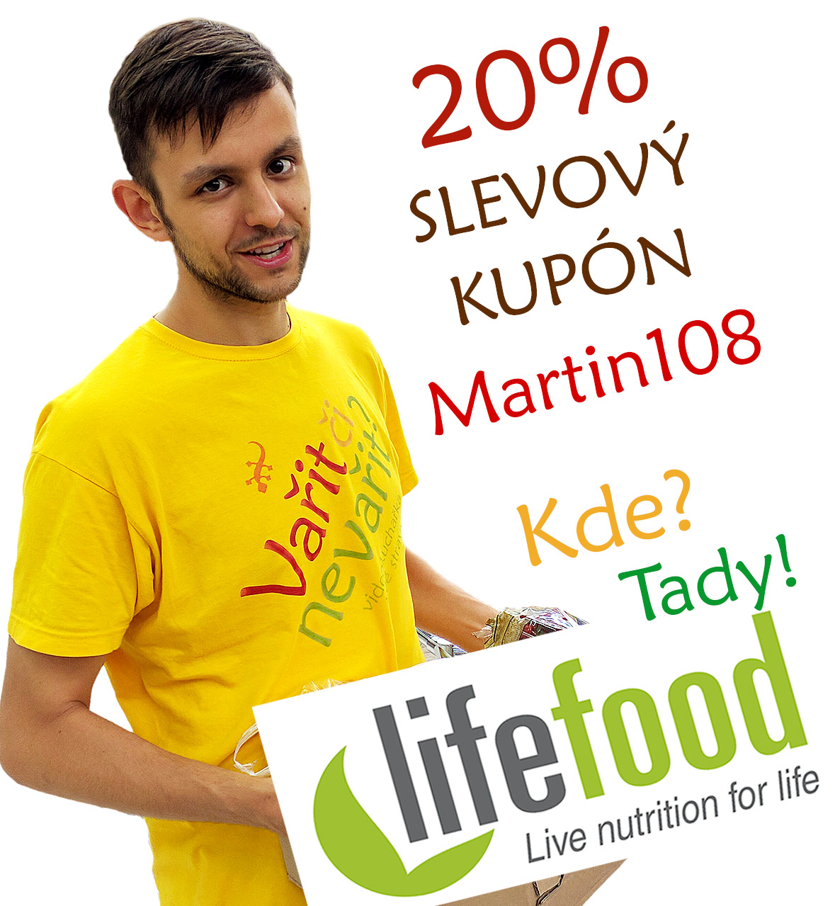Sleva 20% na Lifefood.cz 2020